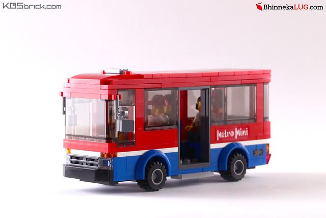 Metro Mini - Jakarta Brick City 2015