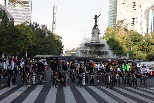 Rodada Maratón CDMX 2015