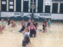 Jessica Lang Dance Student Outreach April, 2014