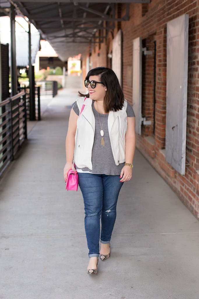 Head to Toe Chic, fall transition outfit idea, Target