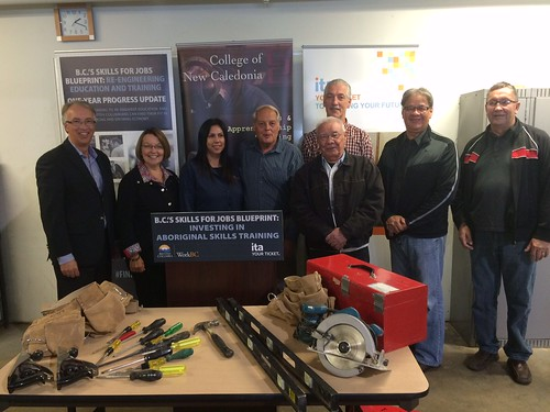 New trades training program for Aboriginal people in BC