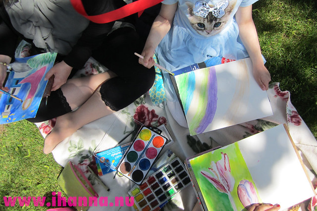 Paint Party in the park, photo by iHanna