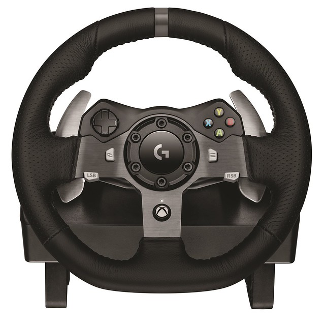 Logitech G920 Driving Force_Front