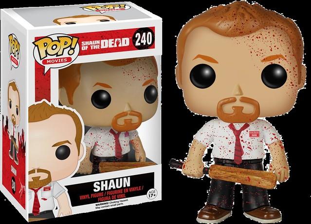 FUNKO POP! MOVIES 系列【活人甡吃】Shaun of the Dead 普通版 vs. 濺血版