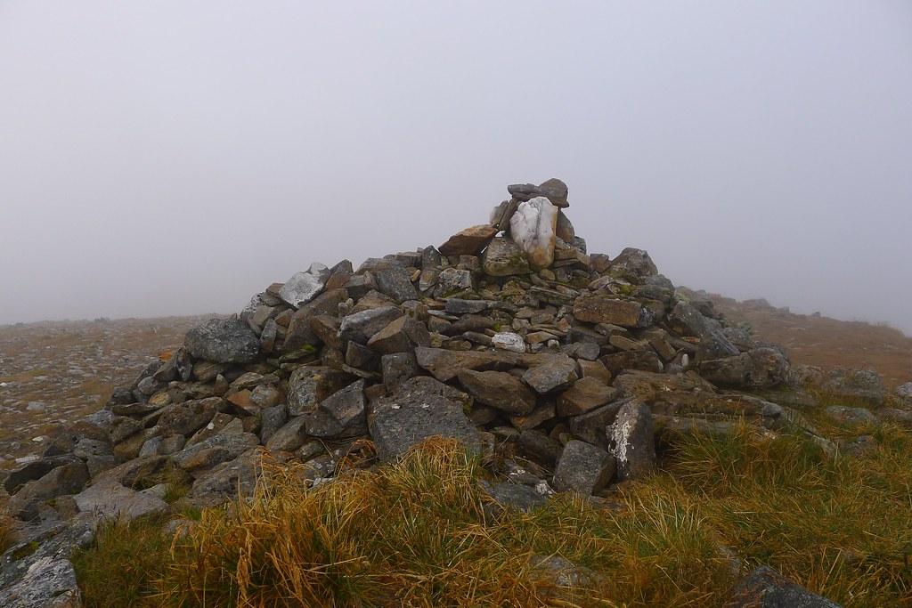 Summit of Sgurr nan Conbhairean