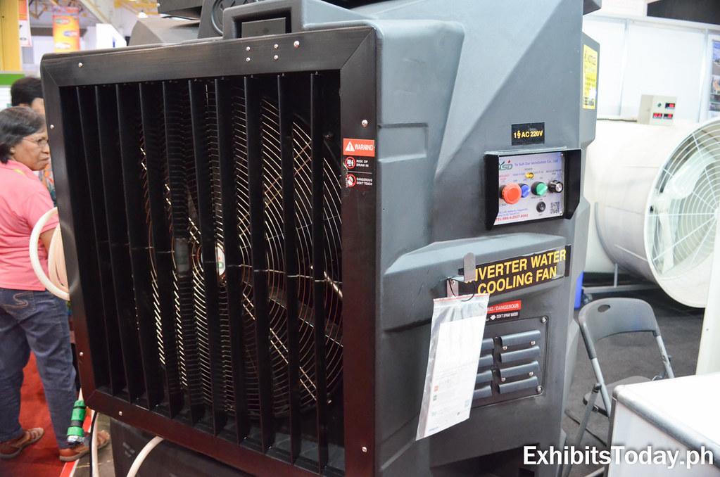 Square ventilation System