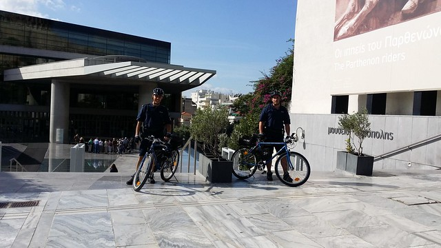 Hellenic Police - Electric Bike Police Team