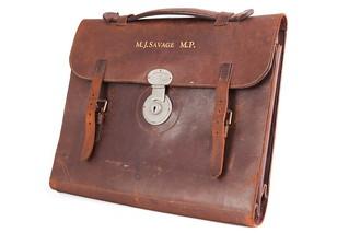 Briefcase of Michael Joseph Savage