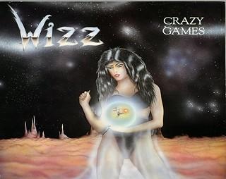 """WIZZ CRAZY GAMES 12"""" LP VINYL"""