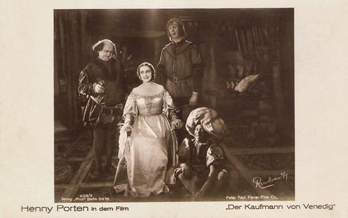 Henny Porten in Der Kaufmann von Venedig (1923)