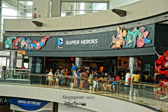 DC Comics Super Heroes Cafe Singapore 01