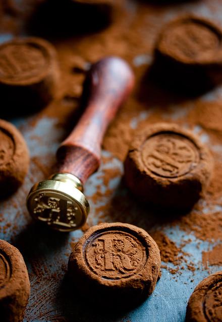 Hausgemachte Schokoladentrüffel mit Irish Whiskey