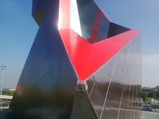 Inaugurazione Ceramic Crown by Daniel Libeskind