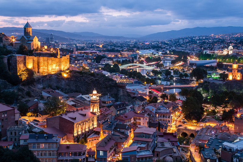 ABM (Another Blue Monday)  / Tbilisi in the evening