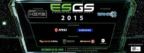 E-sport and Gaming Summit Philippines 2015 (ESGS)