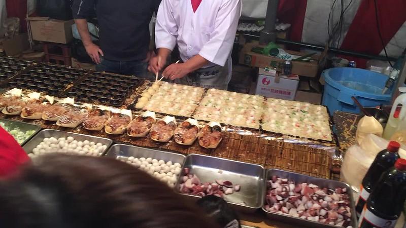 Shinjuku street food.