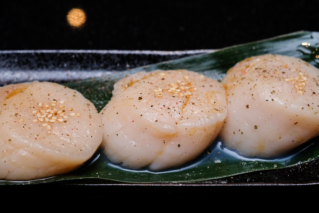 Yen Yakiniku: scallops