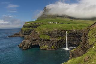 Gásadalur, Faroe Islands - D8C_9782
