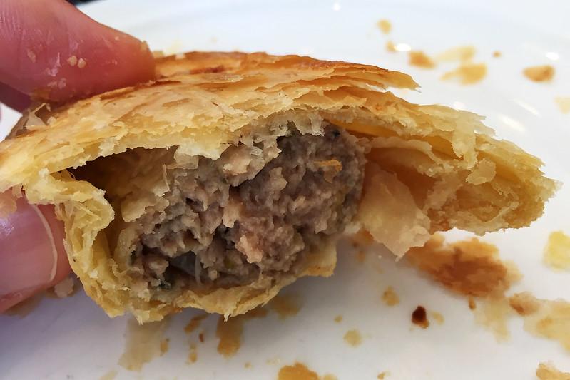 Lamb sausage roll, Dinky Di Pies & Pastries