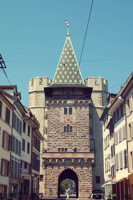 Das Spalentor, Basel, CH