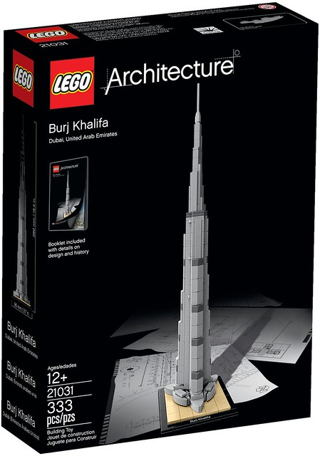 LEGO Architecture 21031 - Burj Khalifa