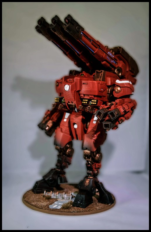 Tau KX139 Ta'unar Supremacy Armour