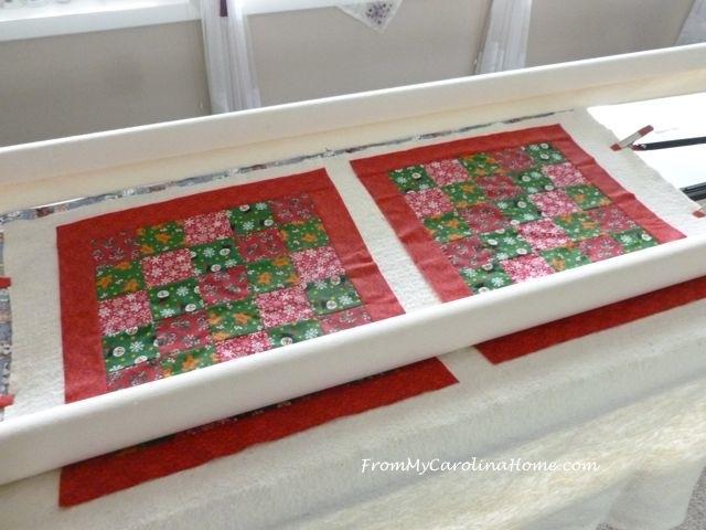 Quick Christmas squares 7