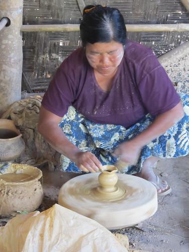 Pindaya: la fabrique de poteries
