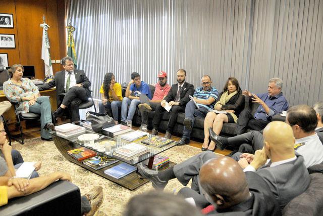 Comisión para tratar protocolos policiales durante protestas en las calles será formada por el gobierno, legisladores y entidades sociales / - Créditos: Tony Winston/Agência Brasília