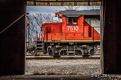 CN 7510 | EMD GP38-2 | CN Memphis Subdivision