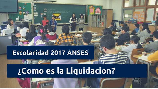 Escolaridad 2017 ANSES