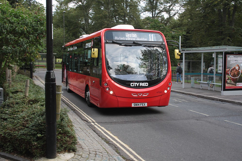 First Hampshire and Dorset 47597 SN14FEX