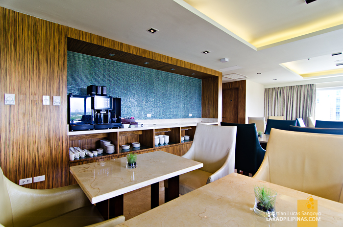 Marriott Manila Executive Lounge