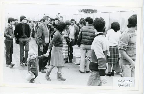 Chile 1986 - Temporales: Peñalolén