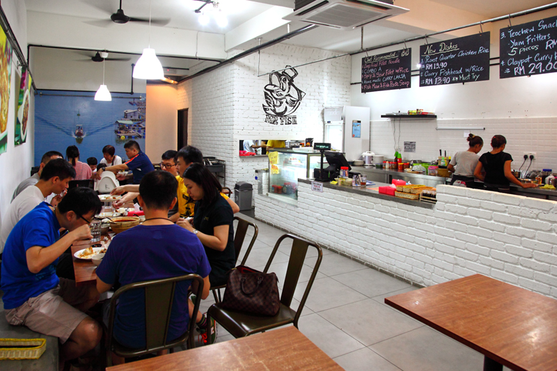 Mr fish fish head noodle restaurant damansara kim pj for Mr fish seafood restaurant