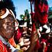 A Konyak man at the Hornbill Festival in Kohima, Nagaland. by arunchs