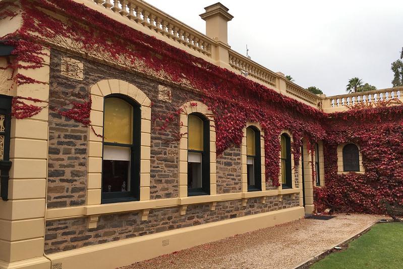 Main building, Seppeltsfield winery
