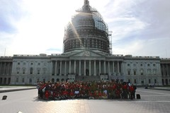 Red Jacket Ceremony at the US Capitol Building - City Year Washington, DC
