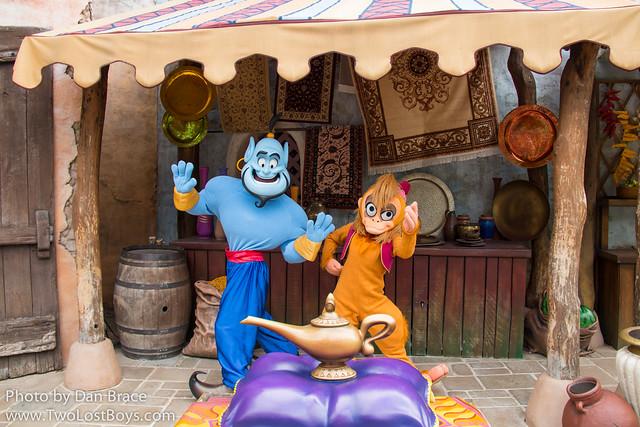 Genie and Abu