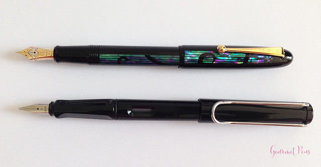 Review Namiki Yukari Nightline Moonlight Fountain Pen @CouronneDuComte (9)