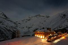 Rhétská dráha– vlakové jízdy za úplňku