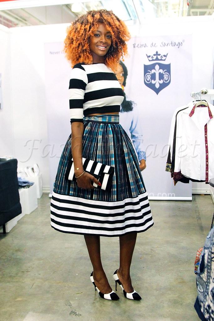 stripes on stripes, striped head to toes, wearing striped all over, all over striped, striped head to bottom, stripe clutch bag, stripe heels, stripe skirt, striped skirt, striped top, stripe top, crop top, how to wear crop top, long sleeved crop top, how to wear an A-line skirt, midi length skirt, A line midi length skirt, full skirt, high waist skirt, high waist A-line skirt, high waist striped skirt