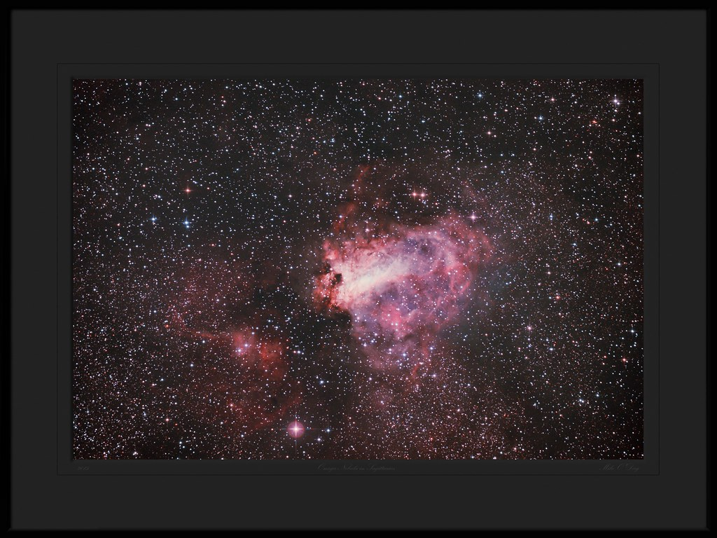 Omega Nebula in Sagittarius - by Mike O'Day ( 500px.com/mikeoday )