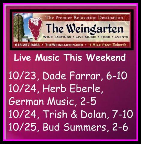 The Weingarten 10-23 thru 10-25-15