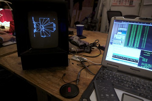 Vectrex and Toughbook