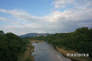 秩父橋からの荒川