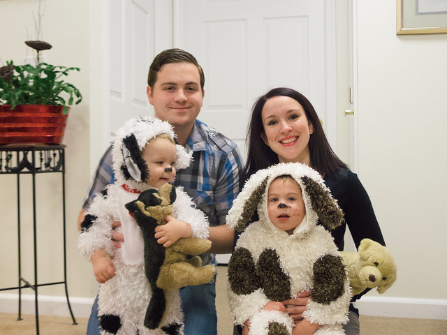 Puppies for Halloween