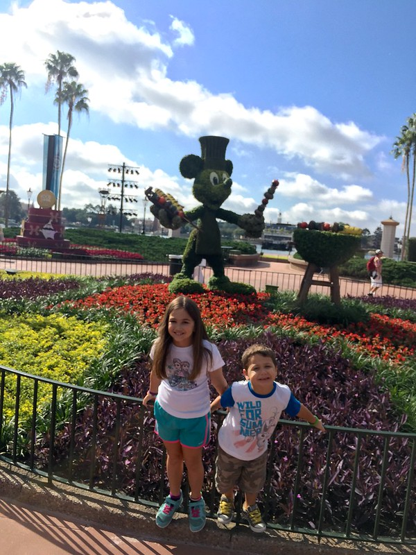 Day 1: Epcot
