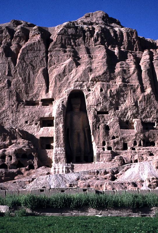 Buddahstatuen von Bamyan, Afghanistan 1978