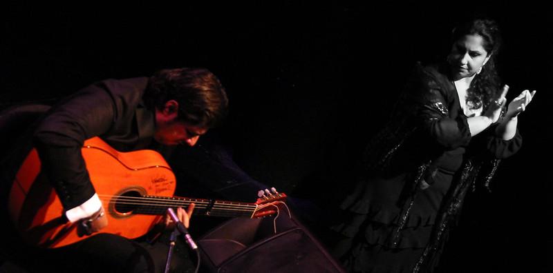 MANUEL VALENCIA, GUITARRA FLAMENCA - TEATRO EL ALBÉITAR DE LA UNIVERSIDAD DE LEÓN - 22.10.15 - AIE FLAMENCO EN RUTA